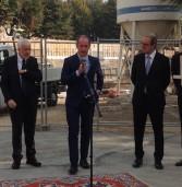 Negrar, il presidente Zaia ha inaugurato i lavori di riqualificazione dell'ospedale