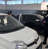 Zimella, i carabinieri ritrovano 5 auto rubate in un capannone in disuso