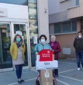 Emergenza Coronavirus, l'Associazione nazionale di azione sociale di Bonavigo dona 100 tute all'ospedale di Legnago