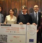 L'European Travel Commissione scieglie Verona per premarie la star cinese Ma Li