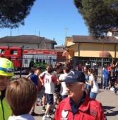 Bovolone, esercitazione di evacuazione per terremoto