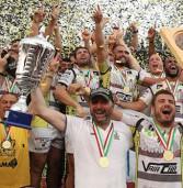 Rugby, lo scudetto al Calvisano che ha battuto in casa il Rovigo