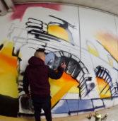 Verona, un grande murale dedicato alla città abbellirà il Parcheggio Centro