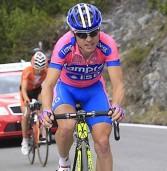 Giro d'Italia, Damiano Cunego cade e deve ritirarsi