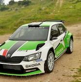 Rally, prove veronesi per la nuova Skoda Fabia R5 pilotata da Scandola
