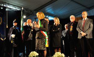 L'inaugurazione dello scorso anno con il sindaco Boscaini