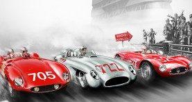 """Verona, domenica corsa di auto storiche aspettando la """"Mille Miglia"""""""