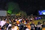 Il grande cinema nel parco del Forte Santa Caterina a Verona