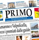 Primo Giornale, il numero di ottobre in distribuzione nella Valpolicella