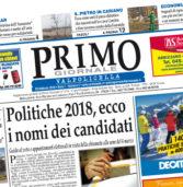 Primo Giornale, il numero di febbraio in distribuzione nella Valpolicella