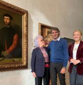 Verona, donato ai Musei Civici l'autoritratto del 1552 dell'artista Badile