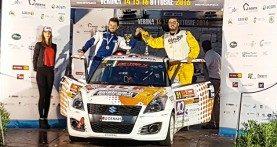 """Rally, il legnaghese Strabello al via nel Campionato italiano al """"Ciocco"""""""