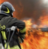 """Affi, a fuoco il capannone del marmificio """"Sarimar"""""""