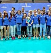 Legnago, le ragazze del Griffon Volley e i ragazzi della Pallavolo in Serie D