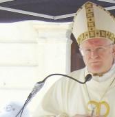 Messa pasquale celebrata dal vescovo alla Officine ferroviarie